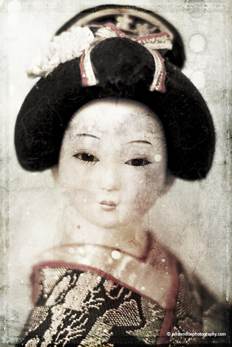 portrait of a geisha; www.whitenoisephotography.com