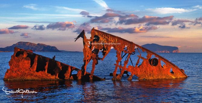 ship wreckage krisso, www.danielefontana.com