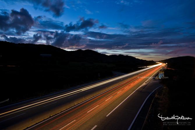 carlights_sunset